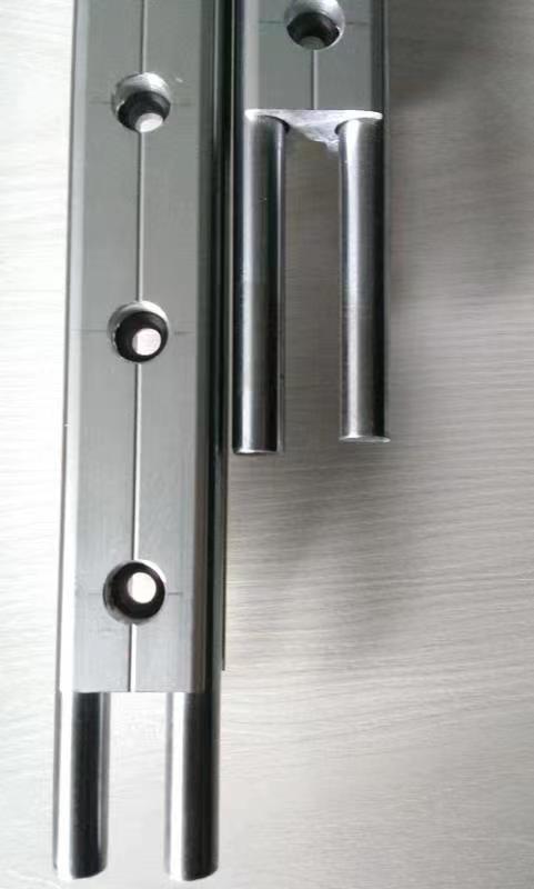 滚珠直线导轨和滚轮直线导轨的拼接方法及注意事项介绍(图1)